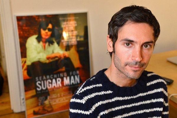 马利克·本德让劳尔,摄于2012年。他的第一部电影《寻找小糖人》获得了2013年奥斯卡最佳纪录片奖。