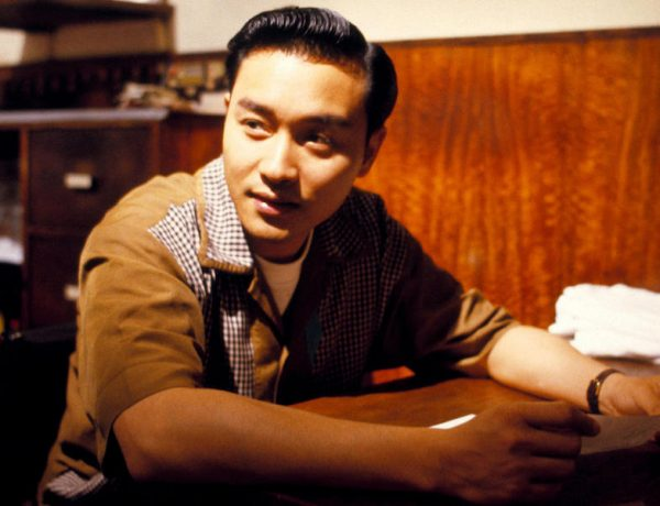 "Leslie Cheung Kwok-wing in the Wong Kar-wai's movie ""Days of Being Wild""."
