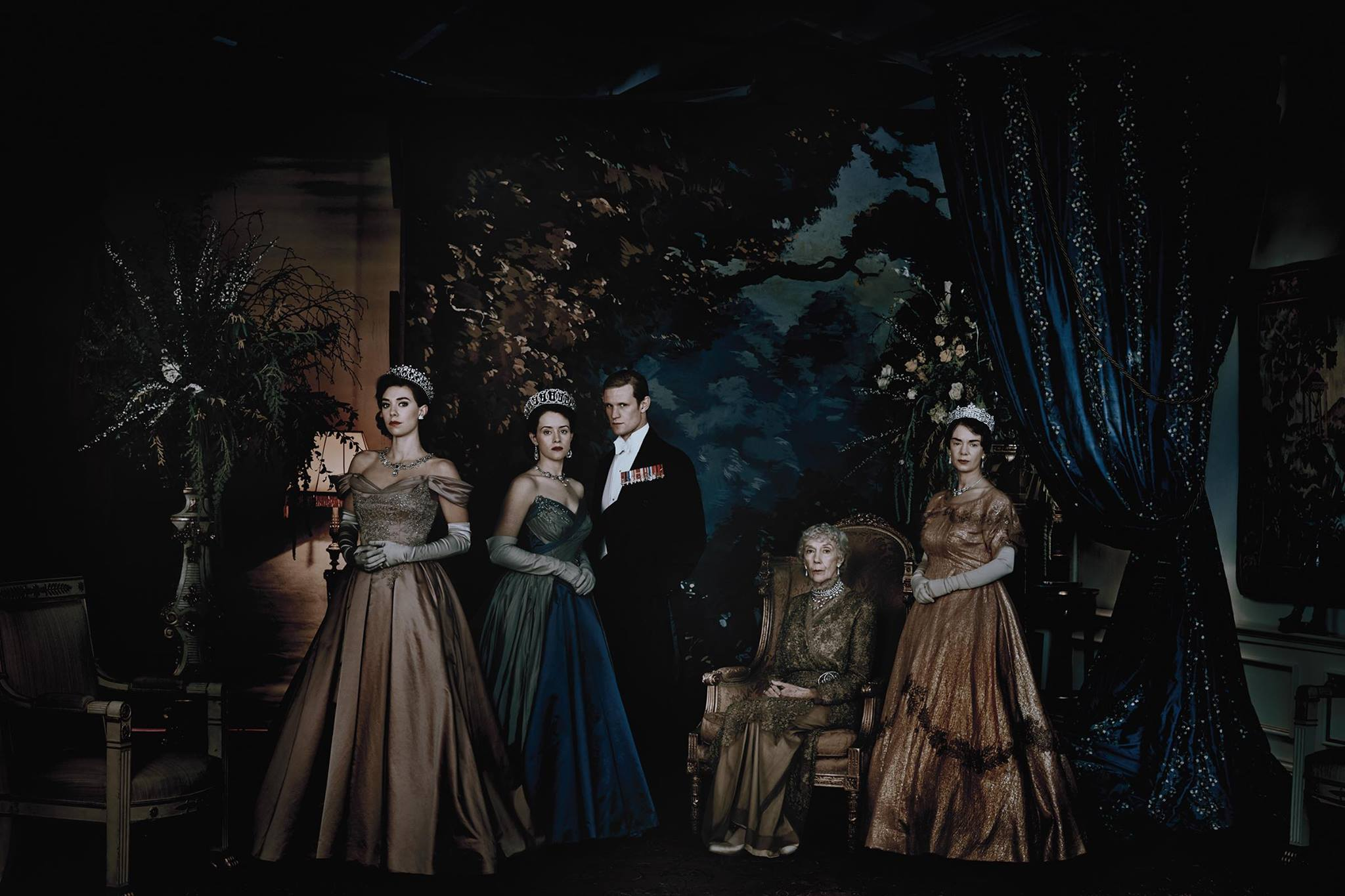 the crown characters