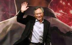 Copyright 2016 The Associated Press. All rights reserved. This material may not be published, broadcast, rewritten or redistributed without permission. Mandatory Credit: Photo by Chiang Ying-ying/AP/REX/Shutterstock (6051040c) Ang Lee Director Ang Lee waves during a media event to promote his new movie ''Billy Lynn's Long Halftime Walk'' in Taipei, Taiwan 'Billy Lynn's Long Halftime Walk' press conference, Taipei, Taiwan - 30 Sep 2016