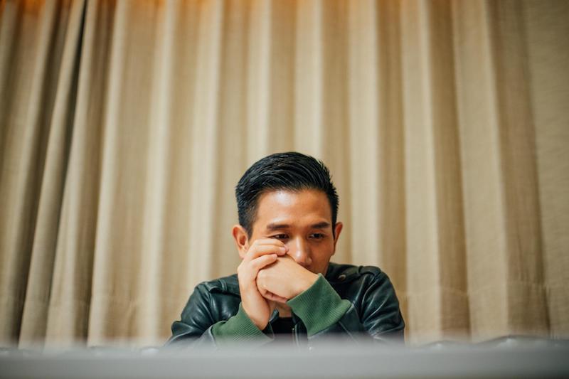 趙德胤專訪。(攝影/余志偉)|©️報導者