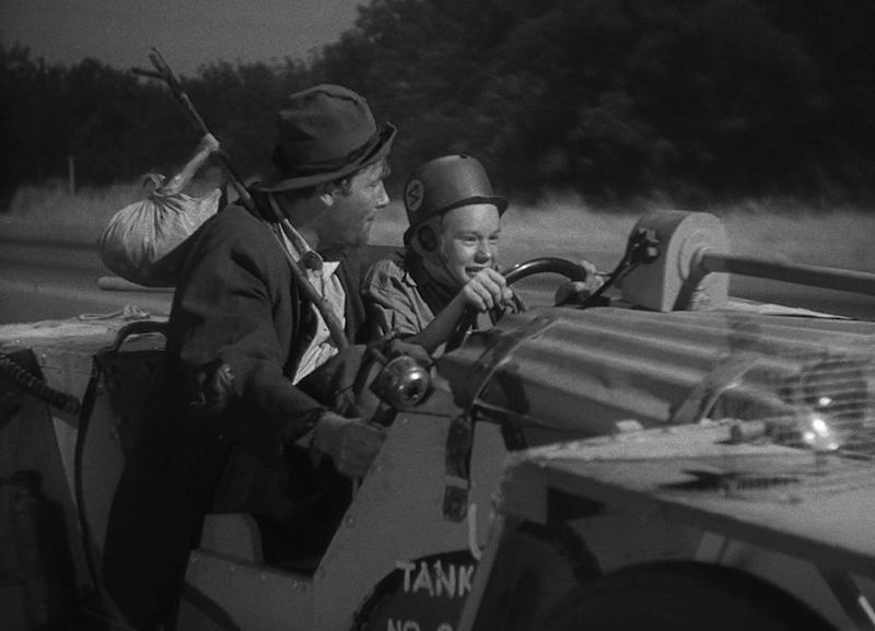 科恩兄弟后来在《逃狱三王》中致敬的画面