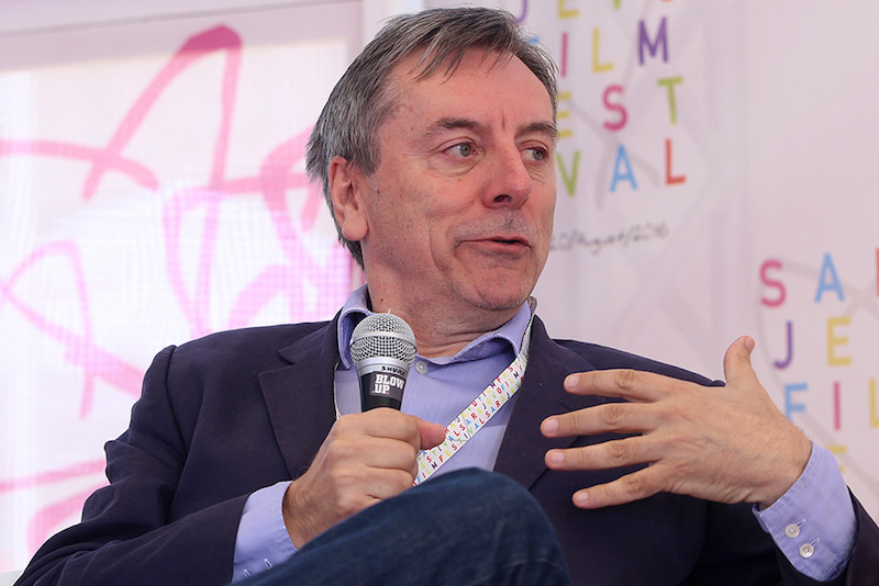 参加Sarajevo Film Festival 活动的Nick James |图片来自网络