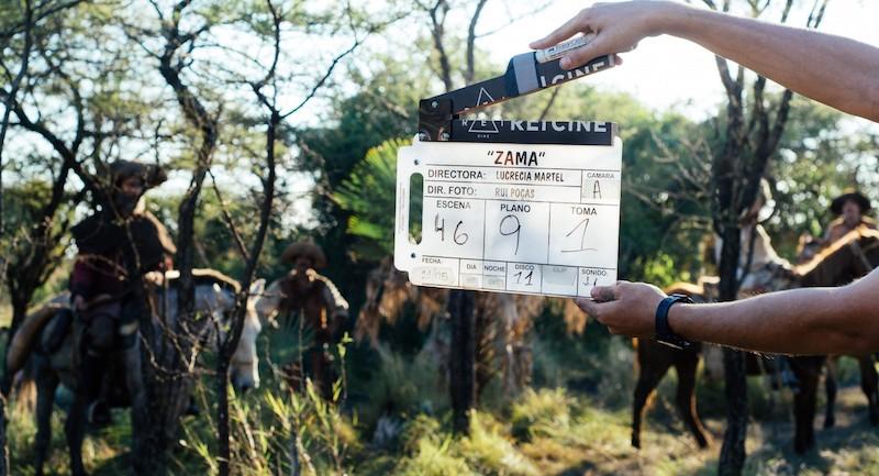《扎马》拍摄现场 来自网络