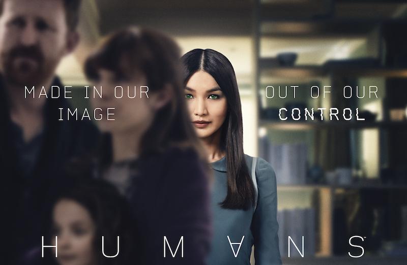 AMC2016年新剧《真实人类》(The Human)海报|来自网络
