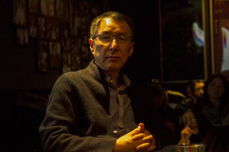 四川大学教授、编剧易丹,摄影师:胥明亮|©️白夜谭