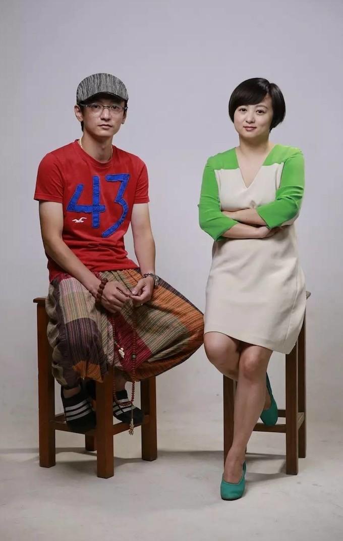 《驴得水》导演周申(左)和刘露(右)|图片来自网络
