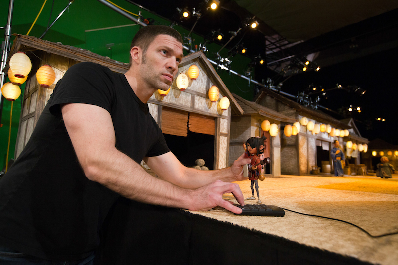 导演Travis Knight Credit: Steve Wong Jr | Laika Studios / Universal Pictures International