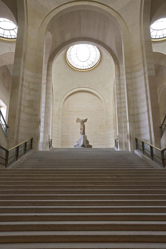 萨莫色雷斯的胜利女神雕像,以及达鲁楼梯