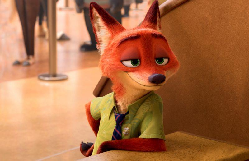 《疯狂动物城》剧照,狐狸尼克|来自网络