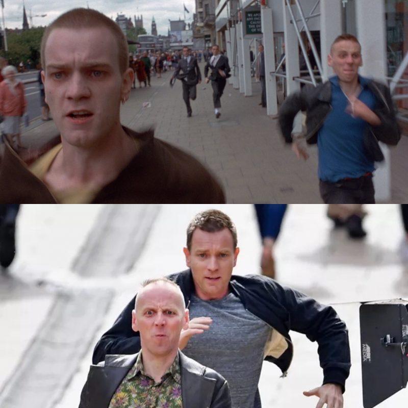 《猜火车》与《猜火车2》场景对比