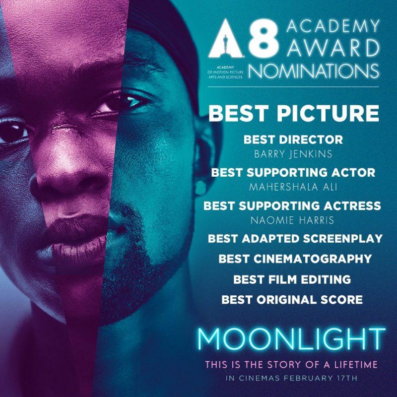 《月光男孩》是今年奥斯卡重要奖项的有力争夺者