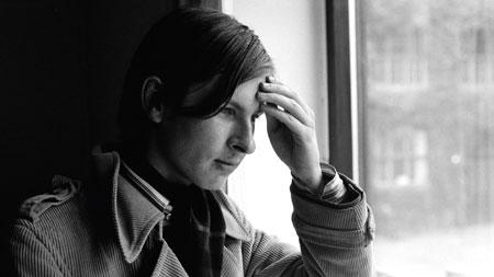 同时期的年轻拉斯的照片|©️Lars von Trier