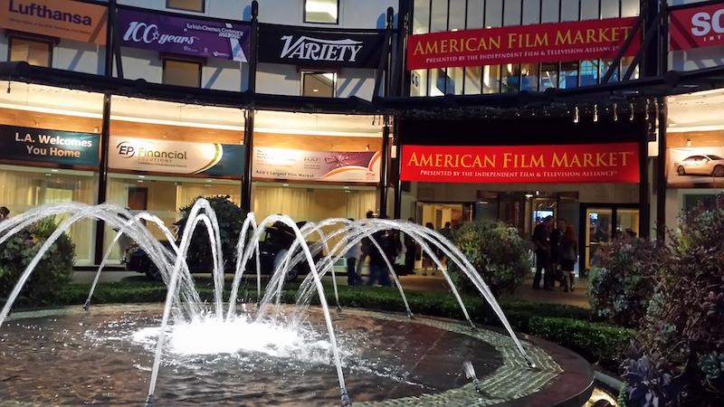 美国电影市场外景|来自网络