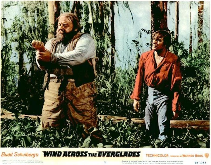 《穿过沼泽》(Wind Across the Everglades)当年宣传剧照|来自网络