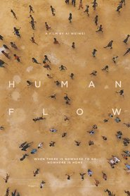 "Poster for the movie ""Human Flow"""