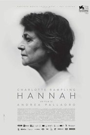 "Poster for the movie ""Hannah"""